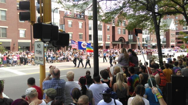 Minneapolis gay pride parade 1